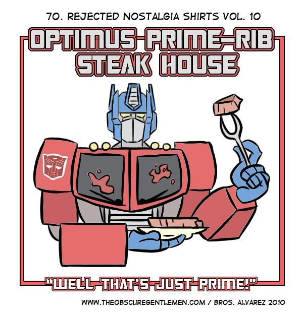 Optimus Prime-rib