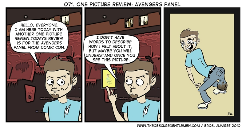 One picture review: the Avengers