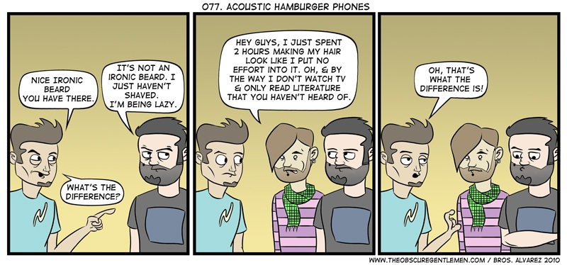 Acoustic hamburger phone