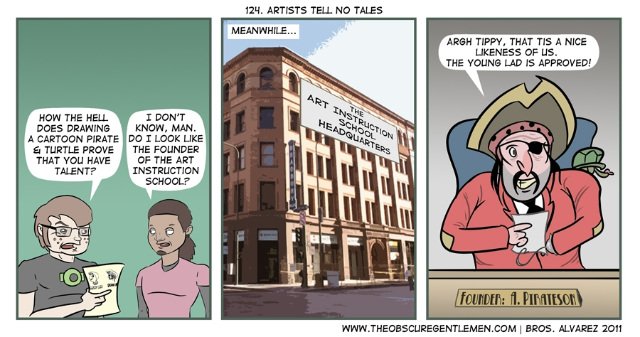 Artists tell no tales