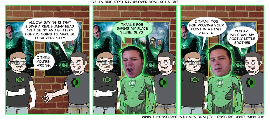 In Brightest Day in over done CGI night