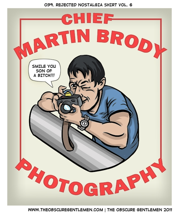 Chief Martin Brody's Photography