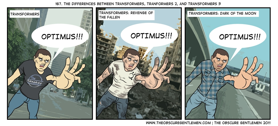The Differences Between Transformers 1,2, and 3
