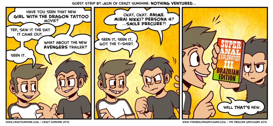 Guest Comic: Crazy Sunshine