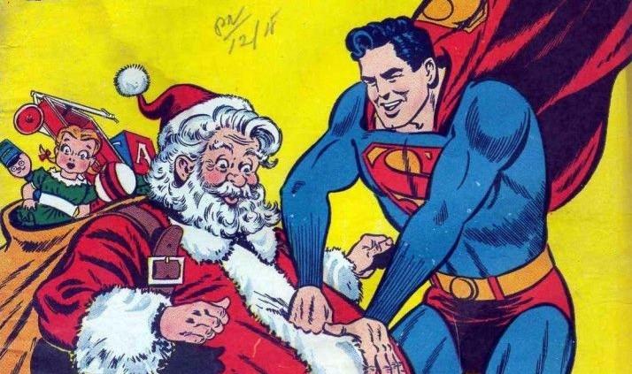 santa superman
