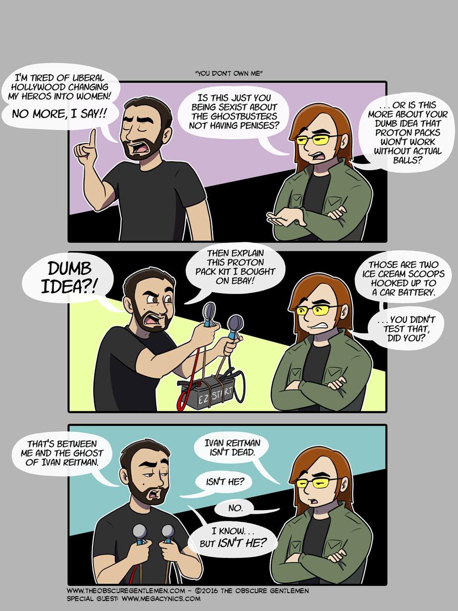 Guest Comic: Mega Cynics